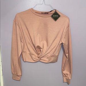Zaful Pink Sweater